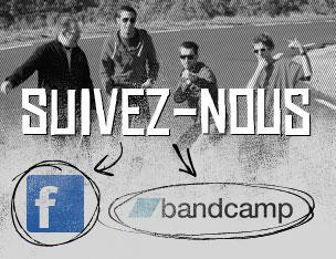 Suivez nous sur Facebook et Bandcamp